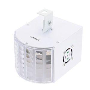 Lepeuxi Activation de 30W RGBWY LED DMX512 sonore Automatique 6 canaux Mini Stade Effet Lumineux Lampe en Cours d'exécution pour KTV Disco Club fête Mariage
