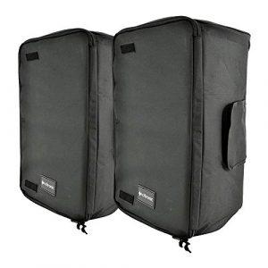 Lot de 2 housses de transport pour haut-parleur Citronic de 30,5 cm – Compatible avec la plupart des haut-parleurs de 30,5 cm