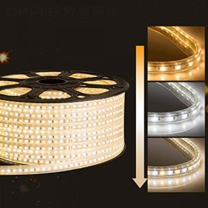 Lumières de bande de LED 10m-100m, ruban LED de 8 w/m, ruban LED imperméable 3 couleurs, taille de la lampe 2.5 * 3.5 cm (taille : Fait sur mesure)
