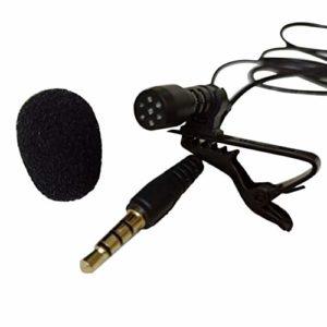 MachinYesell JinKai Universel Portable 3.5mm Mini Ordinateur Microphone Lapel Lavalier Clip Mic pour Lecture Enseignement Guide De La Conférence Guide Studio