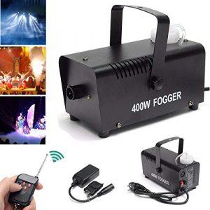 Mini Machine à Fumée 1500 W Fogger Professionnel Portable Machine à Fumée Avec Télécommande Technique De Scène Pour Halloween, Noël, Mariage-500DANS