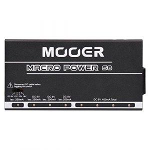 Mooer – Macro Power S8 –Bloc d'alimentation pour pédales