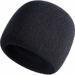 Mousse Mic Microphone à Main Couverture de Pare-Brise pour Blue Yeti, Yeti Pro Condenser Microphone