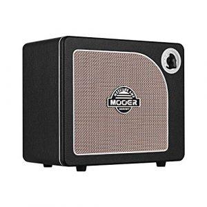 Muslady Haut-parleur amplificateur de guitare combo à modélisation numérique Effets de réverbération à retard de modulation intégrés Tuner de guitare Modes Live BT AUX IN NOIR 15 Watt