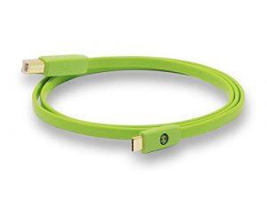 Neo by Oyaide d+ Câble numérique USB Type C (Type C – Type B) Hi-Speed et durable pour DJ, musiciens et producteurs