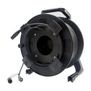 Neutrik Cat5e Laisse sur tambour de bobine 40m double blindage Ethercon van Damme Câble 100m