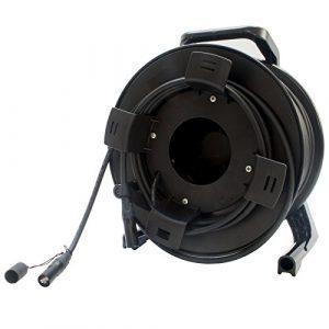Neutrik Cat6a 1303e sur tambour de bobine 40m Catsnake Ethercon câble 100m