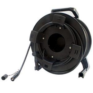 Neutrik Cat6a 1303e sur tambour de bobine 40m Catsnake Ethercon câble 80m