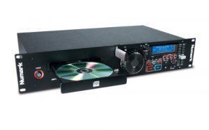 Numark MP103USB – Double Lecteur USB et CD en Rack avec Commandes de Pitch et de Tempo, Ensemble Complet d'Entrées/Sorties et Compatibilité CD et CD MP3
