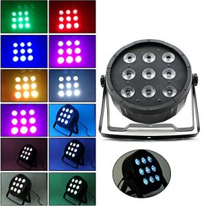 OUKANING 9 LED Éclairage de scène 75 W LED Club Disco Moving Head Phare Phare Projecteur DMX512 Eclairage DJ Disco Pub
