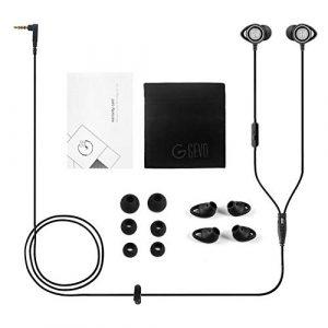 ouying1418 GEVO Audio Sport-Fi Gv3 Écouteurs intra-auriculaires avec microphone intégré
