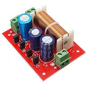 OverTop YLY-2088 Filtre croisé 2 voies réglable 400 W 2 unités audio haut-parleur séparateur de fréquence