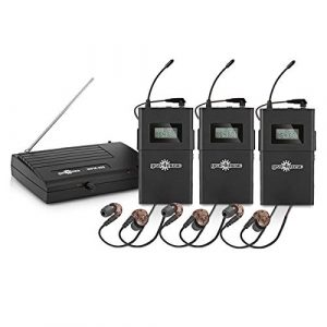 Pack avec Systeme de Monitoring Intra-Auriculaire Sans Fil par Gear4music et 3 Recepteurs