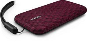 Philips Everplay BT3900P Enceinte Bluetooth Waterproof, Antichoc, avec Dragonne USB, Micro, Rose