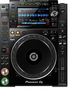 Pioneer CDJ-2000NXS2 table de mixage audio – tables de mixage audio (4-40000 Hz, 7-inch, full-colour LCD)