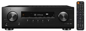 Pioneer VSX-534 Récepteur (5×150 Watt, Dolby Atmos, DTS:X, MCACC, Advanced Sound Retriever, AM/FM, Bluetooth, USB), Noir