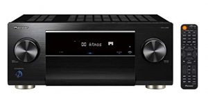 Pioneer VSX-LX504(B) 9.2 Récepteur AV (215 W/canal, 4K UltraHD, Dolby Atmos, DTS:X, WLAN, Bluetooth, Hi-Res Audio, Streaming, AirPlay 2, Apps de musique, Radio Internet, Multiroom), Noir