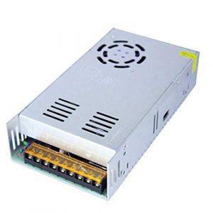 Puissance de Commutation, AC110V AC220V for DC 24V 15A 360W commutateur d'alimentation Pilote Transformateur Adaptateur for Bande LED Accessoires d'éclairage