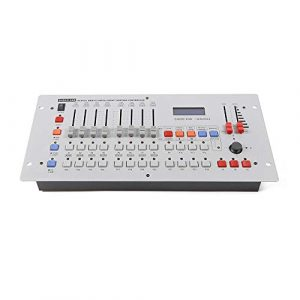 RANZIX Contrôleur DMX 240 canaux DMX 512 contrôle de la lumière, contrôle de la lumière, contrôleur DMX, consoles sans fil, équipement DJ pour scène, lampe de déménagement, DJ, club, fête