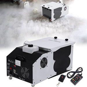 Ridgeyard 2.5L 1500W machine à brouillard Effet de glace sèche Smoke machine avec télécommande fog machine