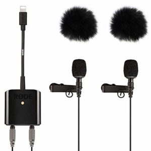 Rode SC6-L Interview Kit de Protection Contre Le Vent en Fourrure avec Microphone + keepdrum 2 x WS05