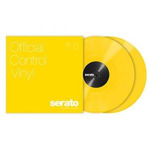 Serato Lot de 2 vinyles de 30,5cm jaune