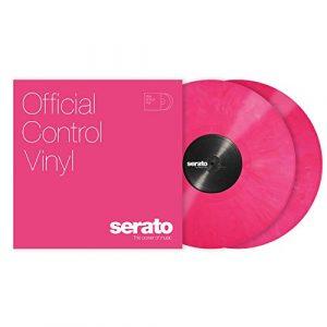 Serato SCV-PS-PNK-OV Contrôle Vinyle Rose