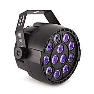 Sol Party Mini-Projecteur PAR avec UV 12 W par Gear4music