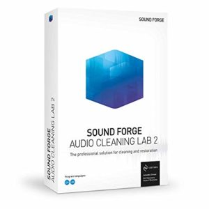 SOUND FORGE Audio Cleaning Lab|2|1 Device|Licence Perpétuelle|PC|Disque