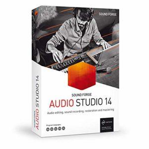 SOUND FORGE Audio Studio|14|1 Device|Licence Perpétuelle|PC|Disque