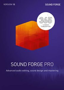 SOUND FORGE Pro|365|1 Device|12 Months|PC|Telechargement