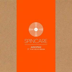 SPINCARE Audiophile Pack De 100 Pochettes Protection De Intérieures pour Disques Vinyle 12 Pouces 33 Tours (33t)