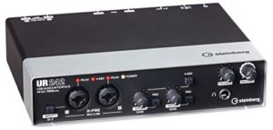 Steinberg 45491 UR242 Interface audio avec MIDI IO