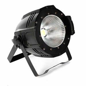 Studio LED PAR COB 100W Blanc et blanc chaud Lampe de scène Cieca Teatro Palco Luce2in1 DJ DMX512