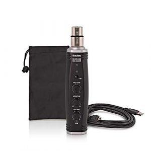 SubZero XLR to USB Convertisseur de Signal et Preampli Micro
