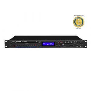 Tascam CD-400U CD/lecteur multimédia intégré avec récepteur AM/FM