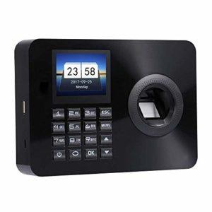 Temps de présence d'empreintes digitales Reconnaissance mot de passe système de présence machine 2.4inch d'affichage des employés Vérification dans Recorder (Color : 8gb)