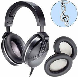 Ultrasone Performance 820 Casque audio Noir + Coussinets + Clé pour violon keepdrum