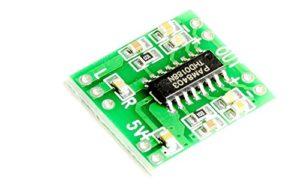 Un mini audio stéréo Amplificateur 2x 3W PAM8403pour protoyping Haut-parleur