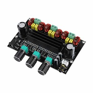 V BESTLIFE Amplificateur numérique TPA3116D2, Module Audio 2 * 80W + 100W du Canal 2.1 de l'amplificateur numérique de Puissance élevée