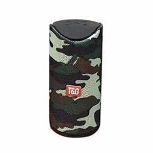 XuBa Haut-parleurs Portables sans Fil Mini stéréo Basse Haut-Parleur extérieur Soundbox Support Carte TF Disque USB Camouflage