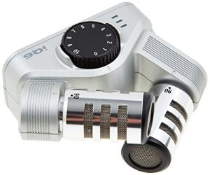 Zoom IQ6 Microphone stéréo X/Y pour iPhone/iPad/iPod