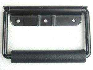 Adam Hall Hardware 3443blk–Poignée Rabattable à ressort Noir