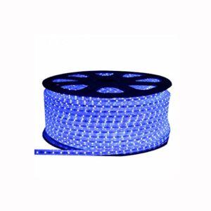 Bande lumineuse, bande lumineuse Jeu de bandes lumineuses à DEL dimmable, ruban DEL de 4,5 W/m, ruban DEL bleu imperméable (d'autres tailles peuvent être personnalisées) (taille : Custom made)