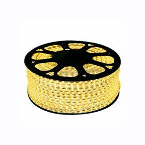 Bande lumineuse, bande lumineuse Jeu de bandes lumineuses à DEL dimmable, ruban DEL de 4,5 W/m, ruban DEL imperméable jaune chaud (taille : Custom made)