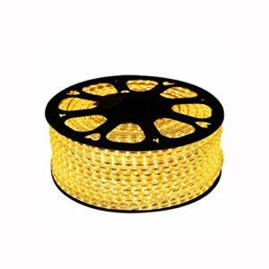 Bande lumineuse, bande lumineuse Jeu de bandes lumineuses à DEL dimmable, ruban DEL de 4,5 W/m, ruban DEL jaune imperméable (d'autres tailles peuvent être personnalisées) (taille : Custom made)