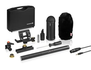 Beyerdynamic 706965 MCE 85 BA Full Camera Kit Microphone directionnel à condensateur