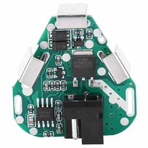 DaMohony Lot de 3 plateaux de protection de la batterie au lithium, perceuse de chargement d'outil électrique de 10,8/12,6 V, plateau de protection de batterie au lithium 18650