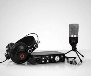Ensemble d'enregistrement studio