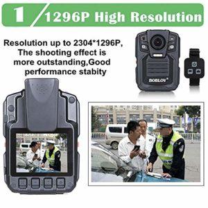 ETbotu Enregistreur numérique Portable, enregistreur vidéo BOBLOV HD66-02 64 Go HD 1296P Mini caméra de sécurité pour Vision Nocturne